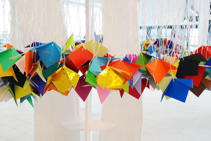 Arbres-à voeux Meaux-origami-Octobre 2015 Laure Devenelle