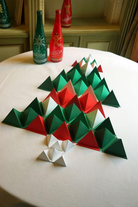 Badoit-Sapin-biais-paper-art-Laure-Devenelle