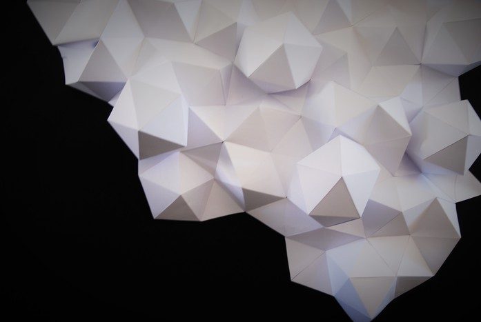 Rochers-bas-papier 3D-Origami-Brussel-Design-September-Laure-Devenelle-