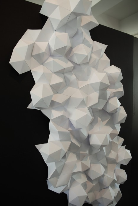 rochers-papier 3D-Origami-Brussel-Design-September-Laure-Devenelle-