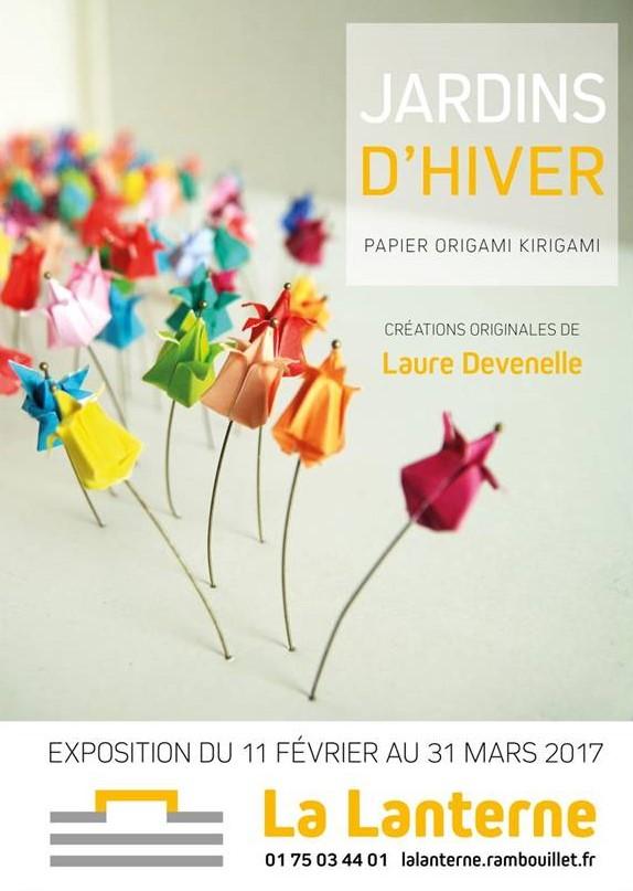 Affiche expo Laure Devenelle La Lanterne