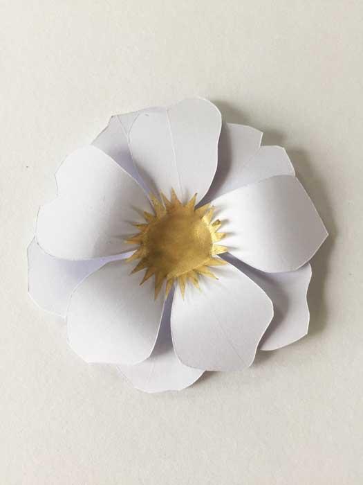 Fleur soleil, prototype, commande pour un lancement de parfum pour Azzaro, 2018, Laure Devenelle