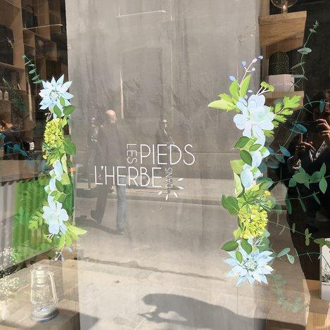 ma petite vitrine, Bouquet Eucalyptus paper, paper plant, papier, green, feuilles, kirigami, Laure Devenelle