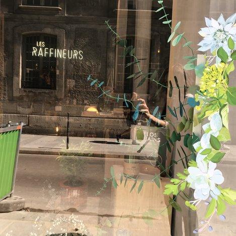 Ma petite vitrine, zoom, Bouquet Eucalyptus paper, paper plant, papier, green, feuilles, kirigami, Laure Devenelle