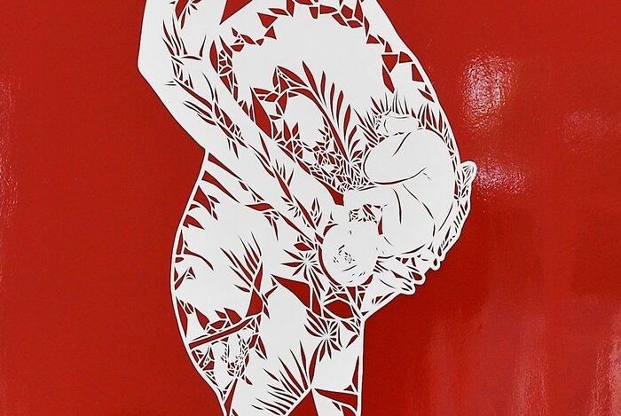 Etre-zoom-dentelle-papier-kirigami-exposition-personnelle-metamorphoses-Lamaziere-cormeilles-en-parisis-©-Laure-Devenelle-2018