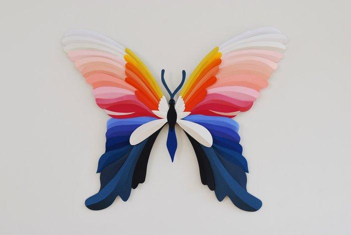 papillon-butterfly-paper-art-exposition-personnelle-metamorphoses-Lamaziere-cormeilles-en-parisis-©-Laure-Devenelle-2018