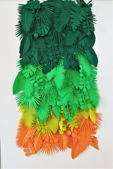 exotisme-installation-murale-feuillage-papier-decoupe-vegetal-exposition-personnelle-metamorphoses-Lamaziere-cormeilles-en-parisis-©-Laure-Devenelle-2018