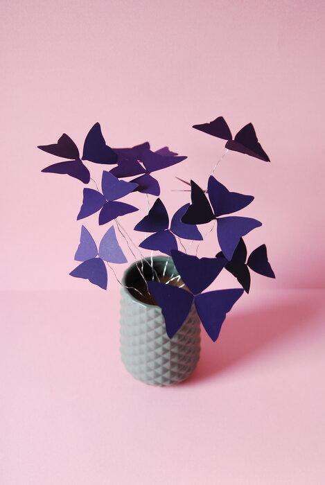 Oxalys-plant-paper-flower-papier-decoupe-purple-pink-2018-artiste-laure-devenelle