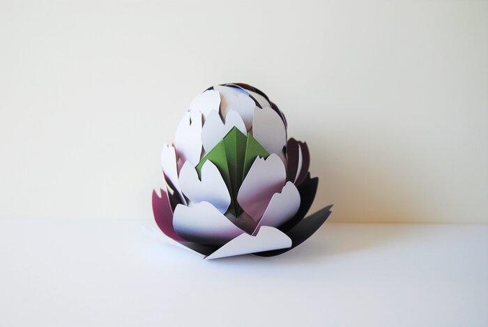 paper-artichaut-origami-concours-bocuse-d-or-2019-Laure-Devenelle