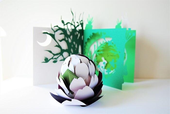 menu-design-paper-artichaut-conte-lapin-pop-up-objet-davy-tissot-cuisine-concours-bocuse-d-or-2019-Laure-Devenelle