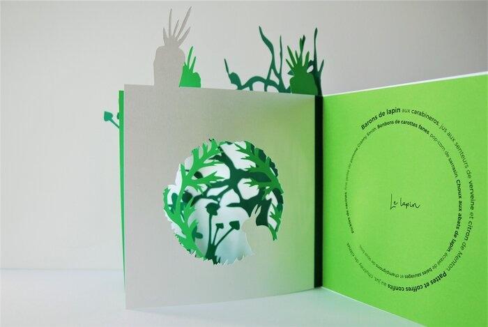 menu-paper-cutting-livre-lapin-pop-up-objet-davy-tissot-cuisine-concours-bocuse-d-or-2019-Laure-Devenelle