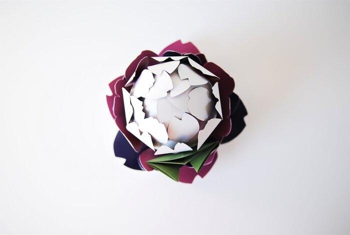 paper-artichaut-3D-volume-objet-concours-bocuse-d-or-2019-Laure-Devenelle