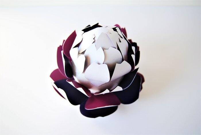 artichaut-paper-3D-volume-concours-bocuse-d-or-2019-Laure-Devenelle