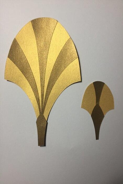 grande-ecaille-or-art-nouveau-exposition-paper-art-creation-Laure-Devenelle-Maison-Christies-Paris-2019