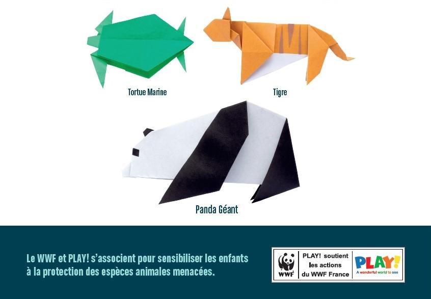 Origami-panda-tigre-tortue-lunettes-play-wild-generale-d-optique-wwf-Laure-Devenelle
