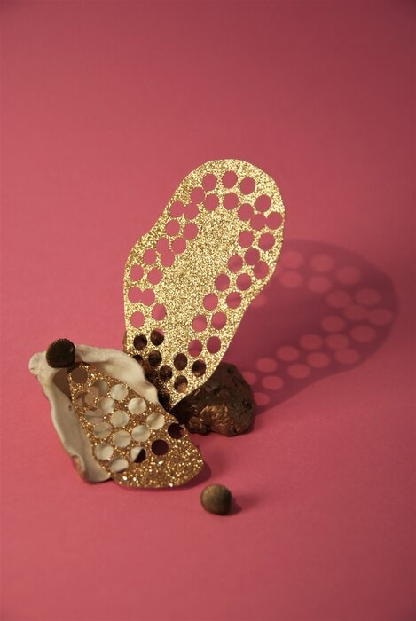 Set-Design-Pink-gold-paper-coquillages-Laure-Devenelle-2020