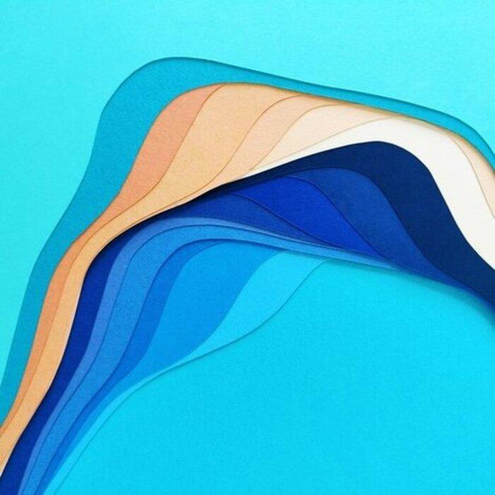 La-Mer-Illustration-Paper-Art-kirigami-superpositions-strates-papier-2020-Laure-Devenelle