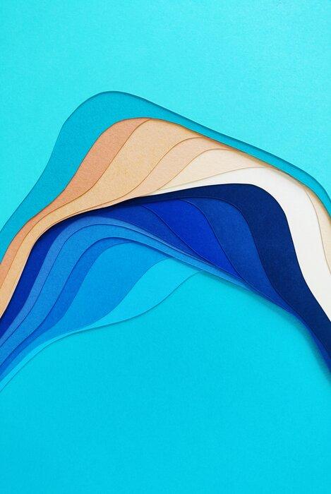 La-mare-waves-paper-illustration-Laure-Devenelle