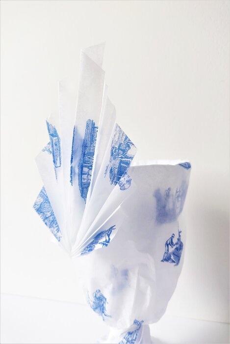 origami-palme-emballage-papier-de-soie-cristallerie-saint-louis-Laure-Devenelle-2020